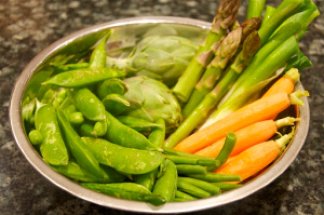 Veggies for Spring Risotto